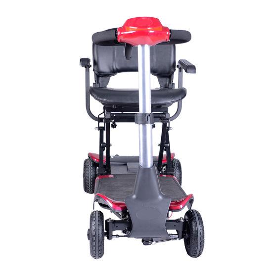 China Heavy Duty de la movilidad de las 4 ruedas Scooter