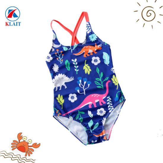 el precio se mantiene estable seleccione para genuino fina artesanía Dinosaurio personalizado Imprimir una sola pieza de nylon Bikini Traje de  Baño para Niños