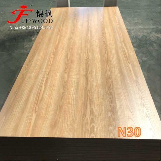 Bekannt China Hölzernes Melamin MDF Faser-neues Entwurfs-Bauholz-Möbel FW95