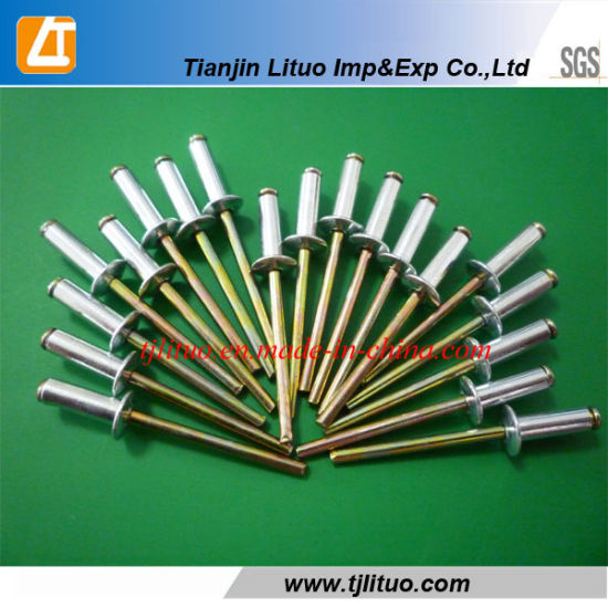 Rivets aveugles 4 mm Type A T/ête bomb/ée en acier inoxydable DIN 7337