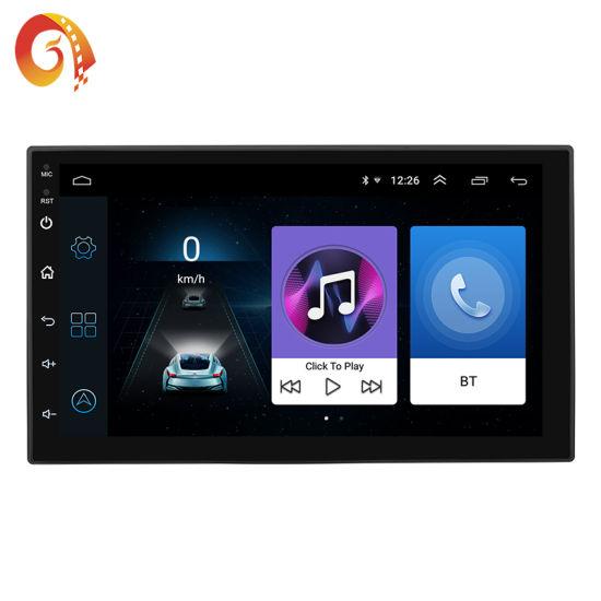 Bluetooth Coche Radio Stereo 7 pulgadas doble 2DIN FM reproductor de USB//MP5 Pantalla Táctil