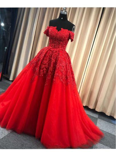 Chine Manches courtes robes de mariée robes
