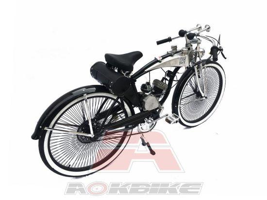 "Vélo Moyeu Avant Essieu 3//8/"" x 140 mm Route MTB BMX Cruiser Vélo Broche Chrome"
