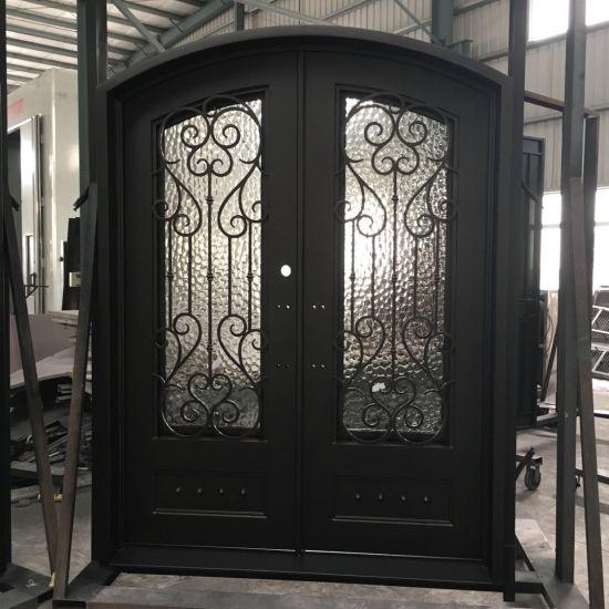 двери из кованого железа главные ворота дверца гриль дизайн