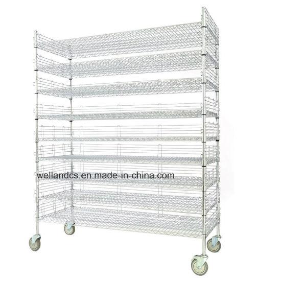 Zwaar Metalen Rek.China Commerciele Rek Van Het Brood Van De Draad Van Het