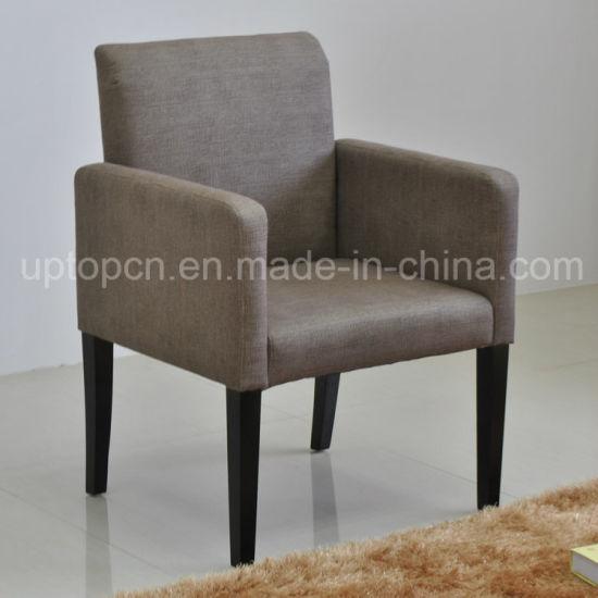 Diseño simple Ocio solo sofá con la tapicería de tela para Comedor  (SP-HC468)