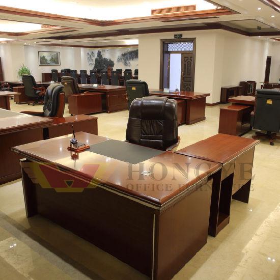 Chine Table De Bureau En Bois De Luxe Du Mobilier De Bureau