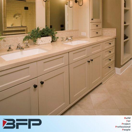 Panneau blanc Salle de bains de style classique de la vanité de PVC pour la  vente