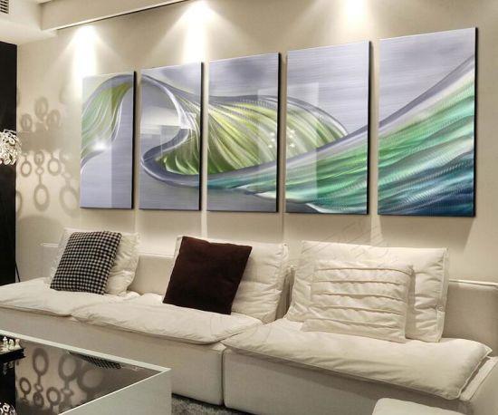 Chine Mur 3d Abstrait Art Peinture Huile Sur Le Métal