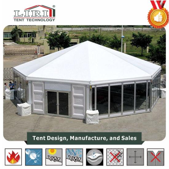 China Achthoekige tenten voor Outdoor Partys en Evenementen
