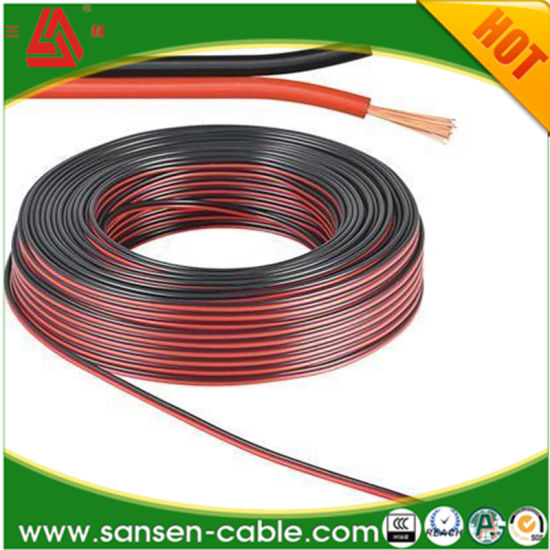 100 Feet 18 Gauge GA Red Black 2 Conductor Speaker Wire Audio Cable