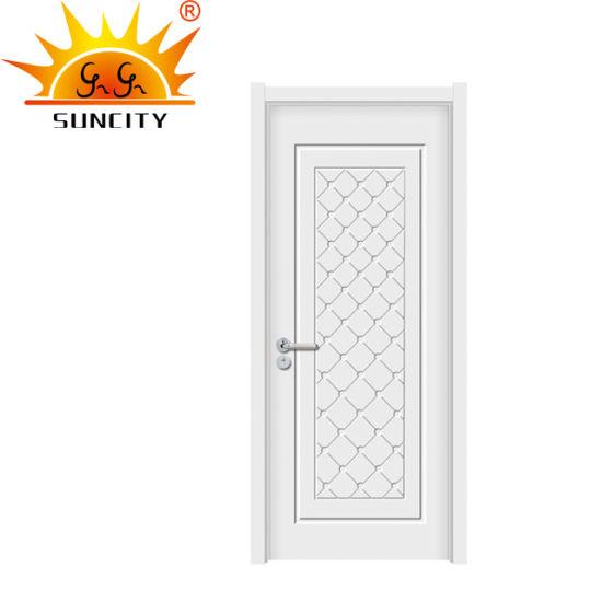 2018 популярных стиле америки повесил трубку до белого цвета двери Mdf классический 6 панели задней двери