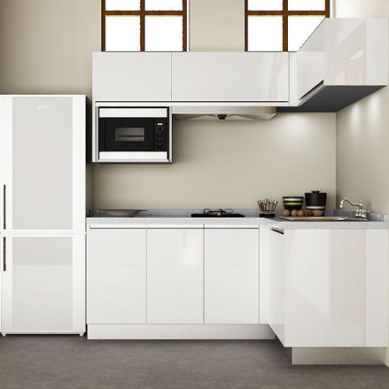 Governi d\'angolo della cucina della cucina all\'ingrosso delle unità per le  piccole cucine