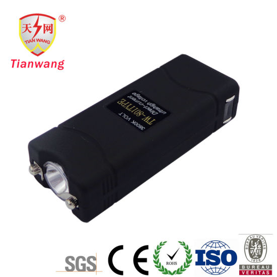 Mini lampe de poche USB rechargeable de choc électrique d/'autodéfense de...