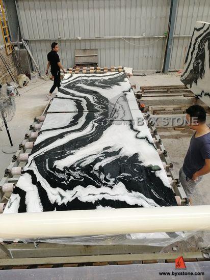 Chine Livre Blanc De Panda En Marbre Poli Appariés Pour