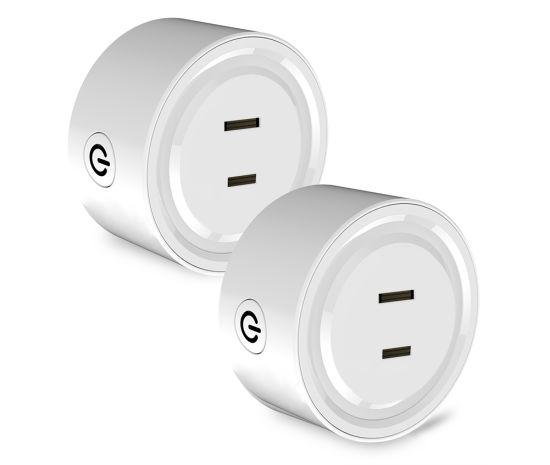 1 unidad Mini Wifi Smart Plug interruptor de toma de