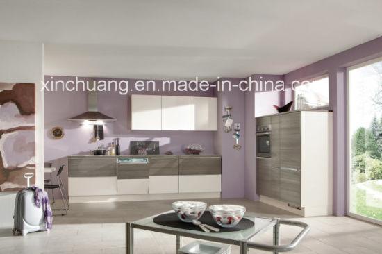 China 2016 Hight Gloss Nuevo Material Muebles de cocina (8H ...