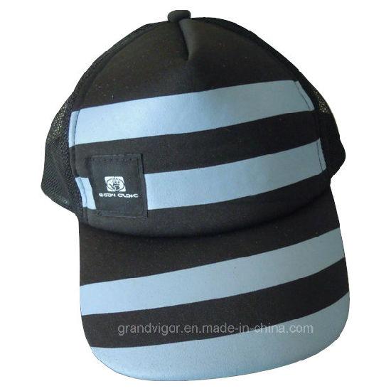 comprar marca famosa ofertas exclusivas Sombrero de paño camionero con etiquetas personalizadas para mujer