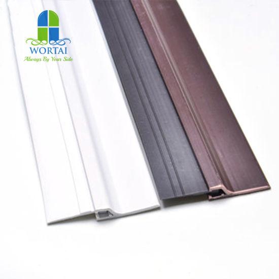 Bois en bois cadre de fenêtre joint de porte joint en caoutchouc marron noir ou blanc