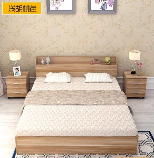 Goedkoop Bed Frame.China 2017 Heet Verkopend Goedkoop Modern Houten Bed Kopen