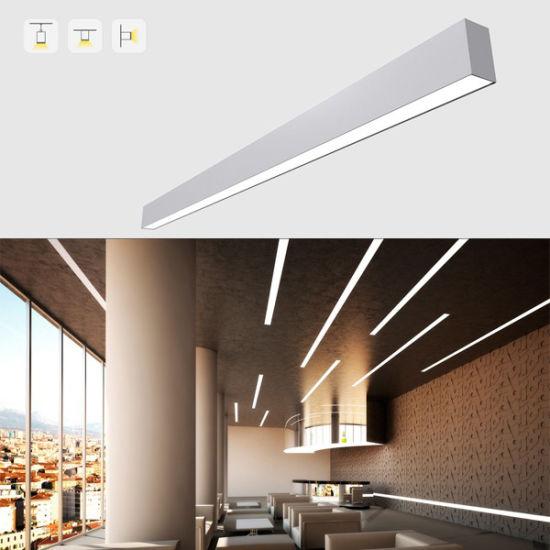 China 50w Led System Licht Streifen Lineare Lampen Hängende