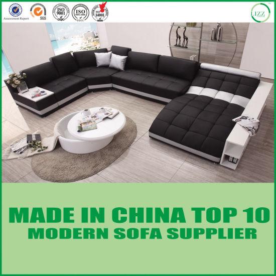 Echt Leren Slaapbank.China Moderne Italiaanse Lederen Bank Met Chaise Slaapbank Kopen