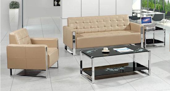 Chine Salon moderne de meubles de bureau unique de tissu ...
