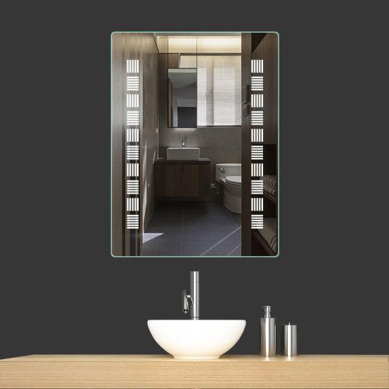 Salle de bains miroir éclairé LED pour la décoration de l\'hôtel