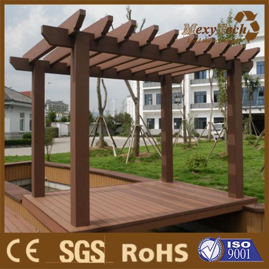 Chine Jardin Mobilier de jardin en bois composite en ...