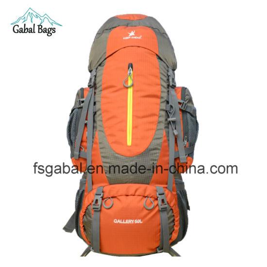 design de qualité 2c12f f6f58 50L Outdoor trekking Randonnées pédestres Sports camping Sac à dos Sac de  voyage