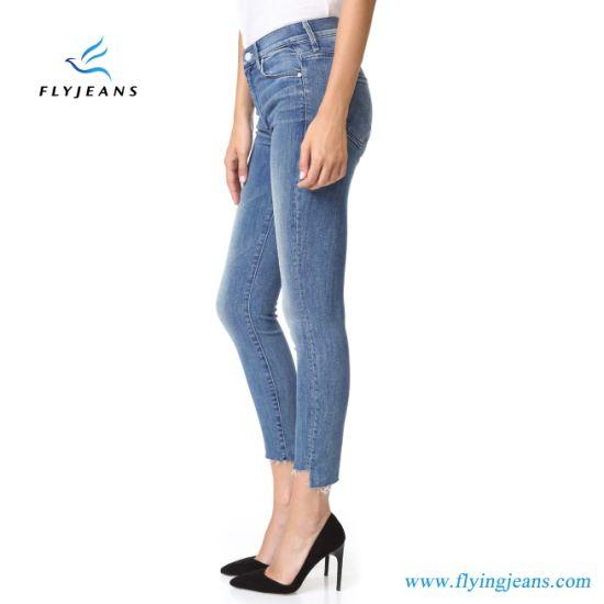 China La Moda Vintage Tobillo Skinny Jeans De Mezclilla Pantalones Para Mujer Damas Comprar La Mujer Jeans En Es Made In China Com