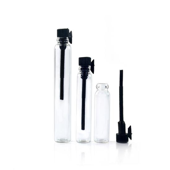 0,5 ml 1 ml 2 ml 3ml vide bouteille en verre clair de tube à essai pour le parfum de l'échantillon bouteille de parfum en verre