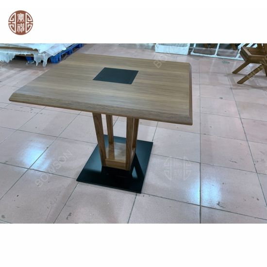 China Hecha de madera Muebles de comedor del hotel ...