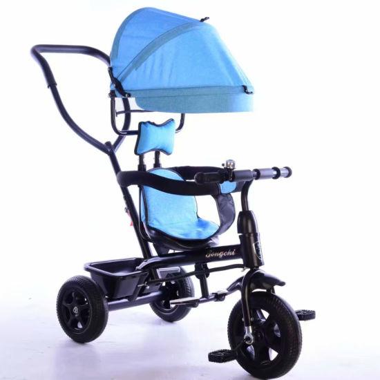 China 4 in 1 Driewieler, de Wandelwagen van de Baby, de
