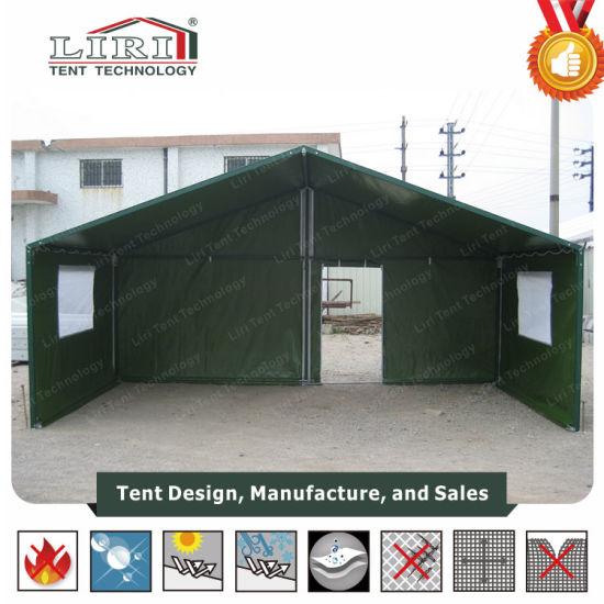 China 9x6m Marquee Tent, Gebruikte Militaire Tent, De Tent