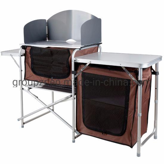 China Plegado de picnic al aire libre Camping mesa de cocina ...