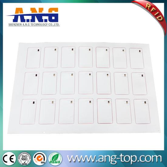 China 3 7 Rfid Karten Chip Kurbelgehäuse Belüftung Prelam
