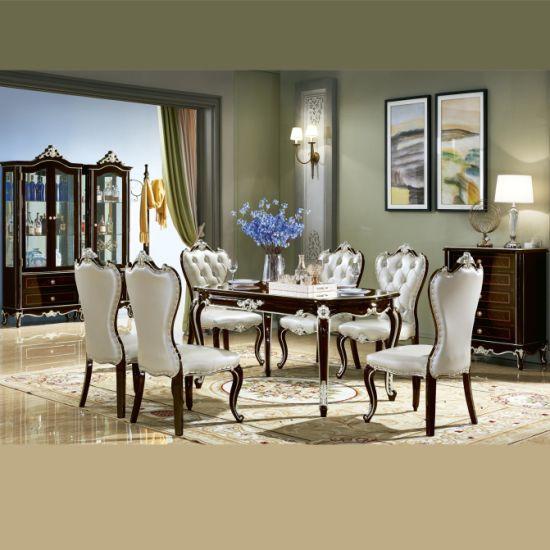China Color opcional de muebles de comedor mesa de comedor ...