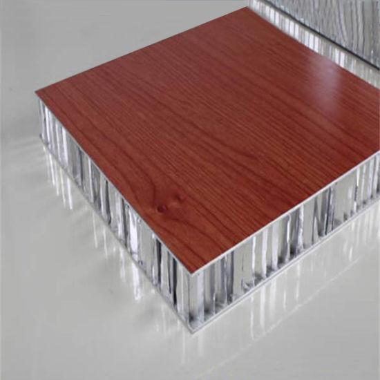 Pannello A Sandwich Di Alluminio Della Quercia Rossa Per Il Sostituto Dei Comitati Di Legno