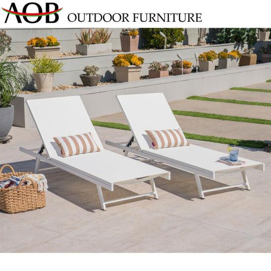 Chine Jardin meubles de patio Hôtel Chaise longue Chaise