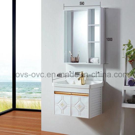 Muebles de baño Cuarto de baño de aluminio de diseño de armarios de vanidad