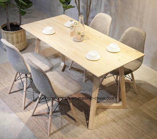 Diseño de muebles de lujo en silla de comedor Mesa Comedor madera maciza de  madera de la naturaleza restaurante de comida caliente de Venta de muebles  ...