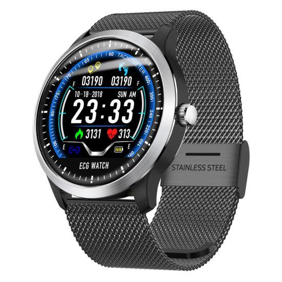 China Lemfo N58, 2019 Nuevo ECG + PPG Reloj inteligente de
