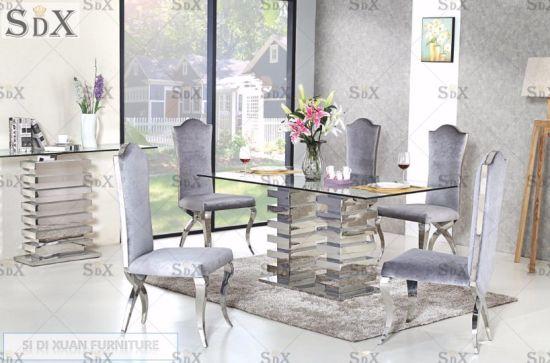 China Muebles de comedor mesa consola diseños especiales con ...