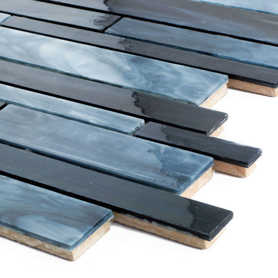 Chine Nouveau mur de couleur bleu foncé Salle de bains ...