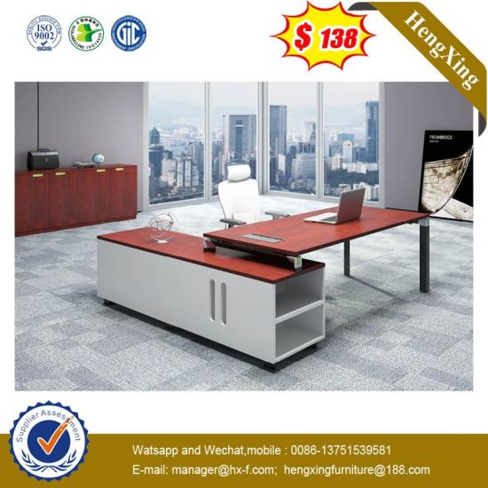 China Precios baratos de madera de MFC Color caoba mesa de ...