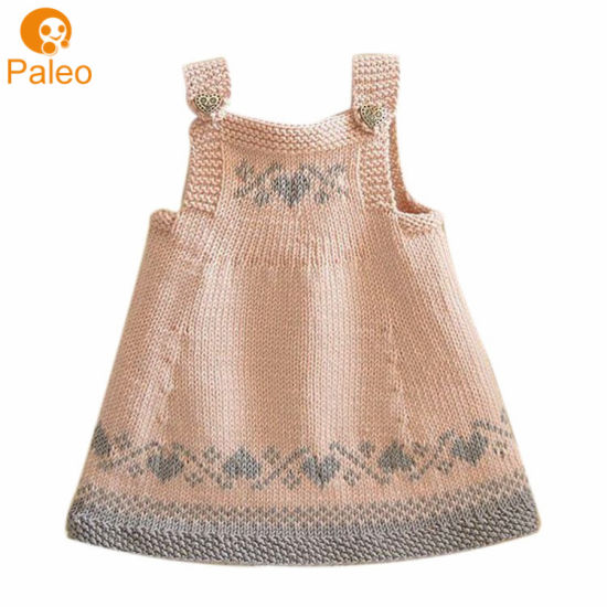 Vestido tricotado niña