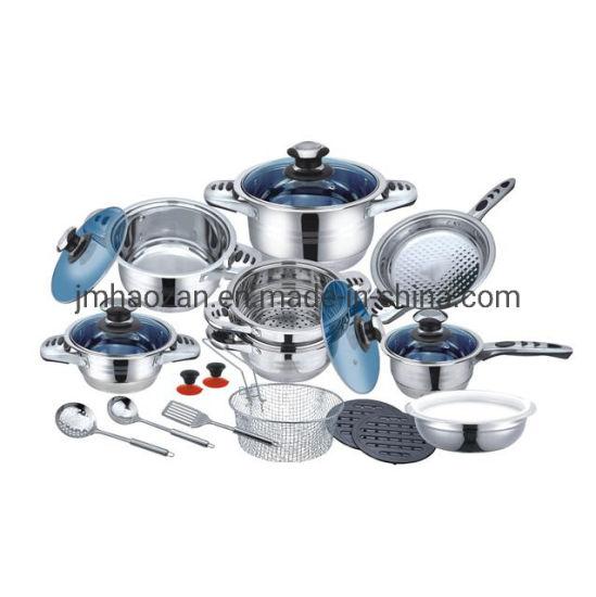 3 Pcs Avec Métal Couvercles En aluminium de haute qualité Pots Cuisine Pots Set