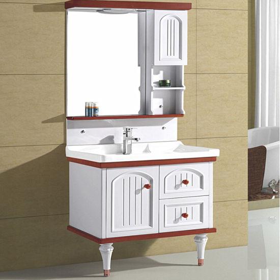 China Estilo sencillo y elegante cuarto de baño de PVC con ...