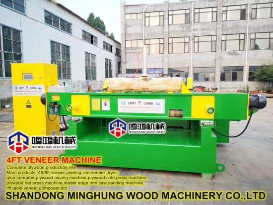 High Speed 4ft Plywood Veneer Rotary Peeling Machine - Buy